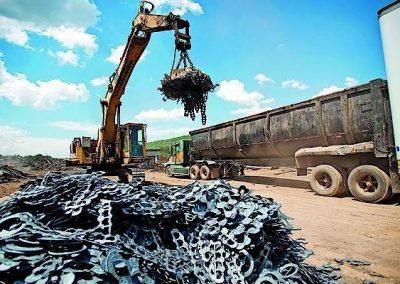 Лом черного металла - вывоз
